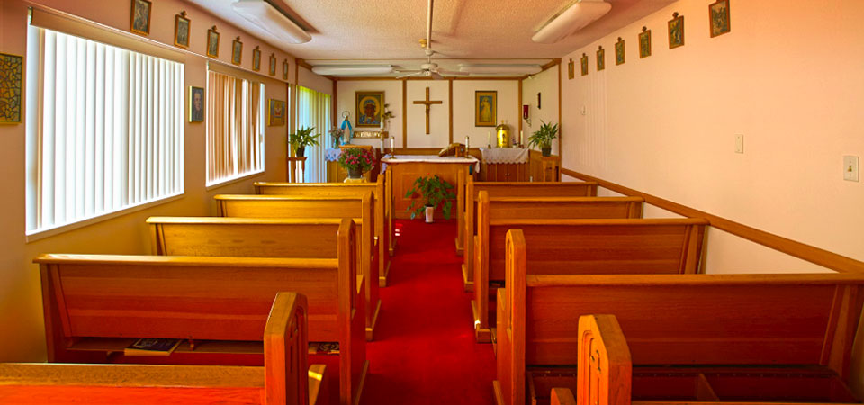 Chapel Interior | Kopernik Apartments